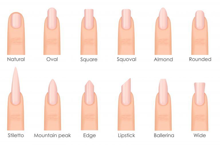 ネイルの形で似合うのはどれ?自爪や指の形で選ぶ、本当に似合う