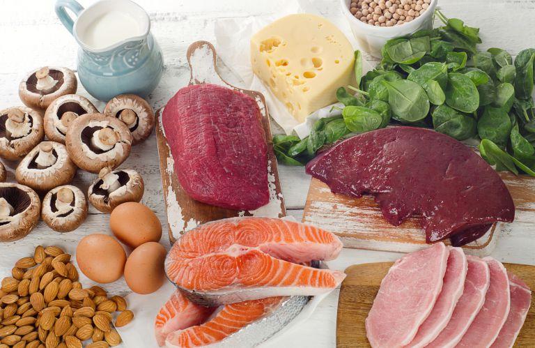 ビタミンB群の食材例